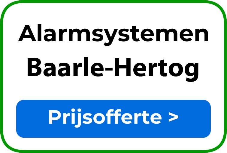 Alarmsystemen in Baarle-Hertog