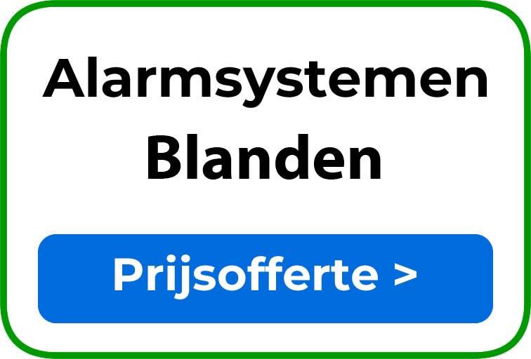 Alarmsystemen in Blanden