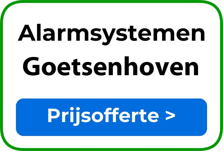 Alarmsystemen in Goetsenhoven