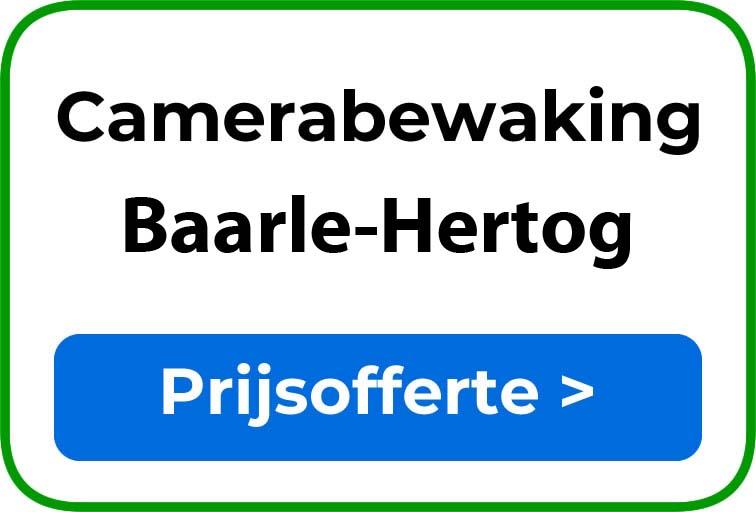 Camerabewaking in Baarle-Hertog