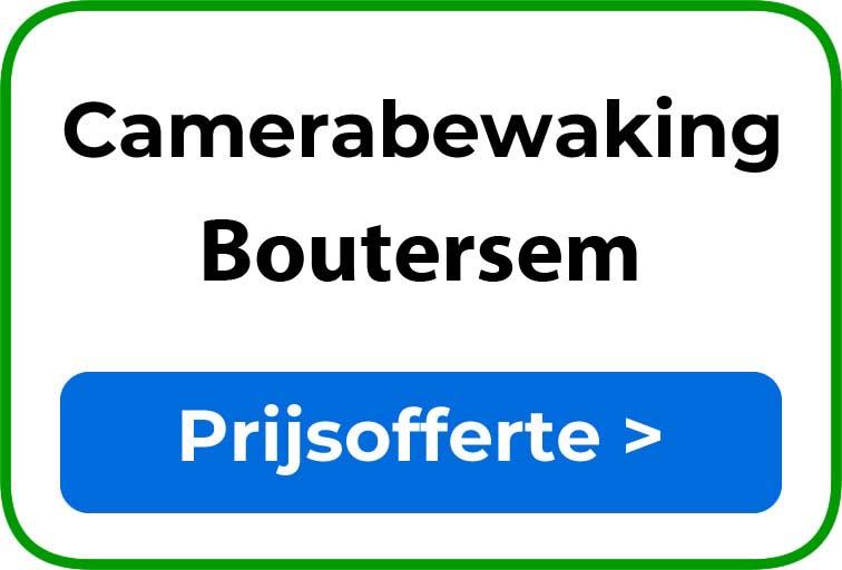 Camerabewaking in Boutersem