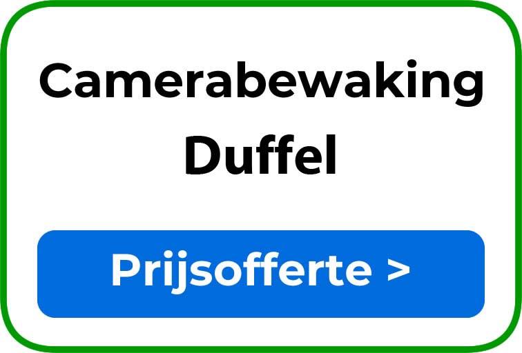 Camerabewaking in Duffel