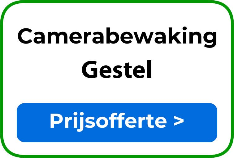 Camerabewaking in Gestel
