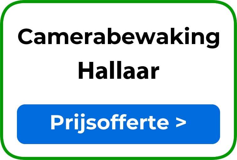 Camerabewaking in Hallaar