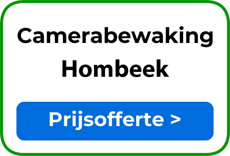 Camerabewaking in Hombeek
