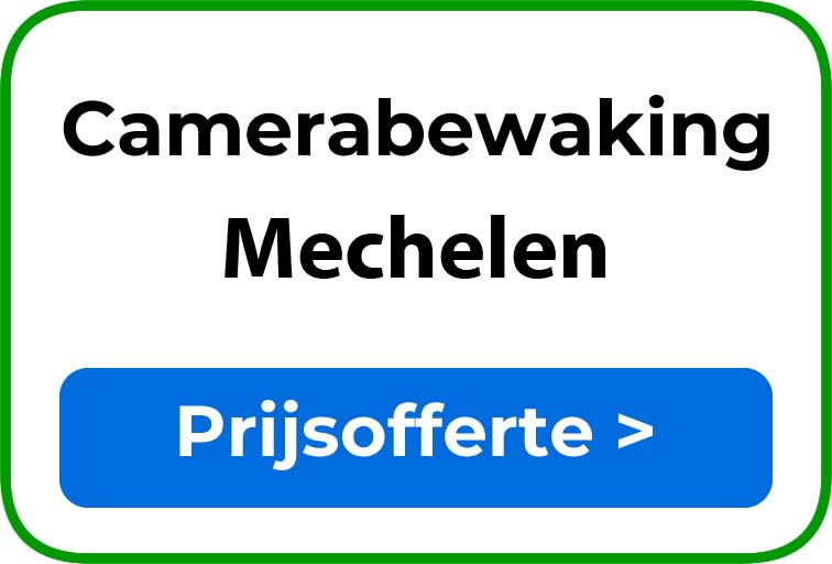 Camerabewaking in Mechelen