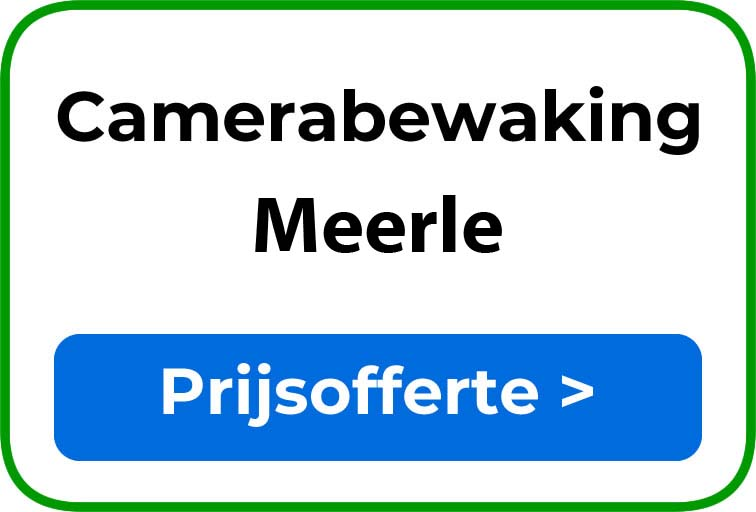 Camerabewaking in Meerle
