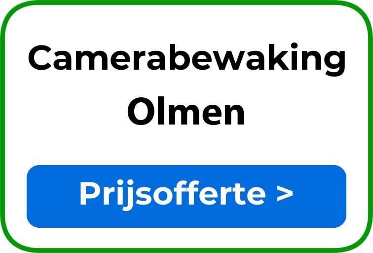 Camerabewaking in Olmen
