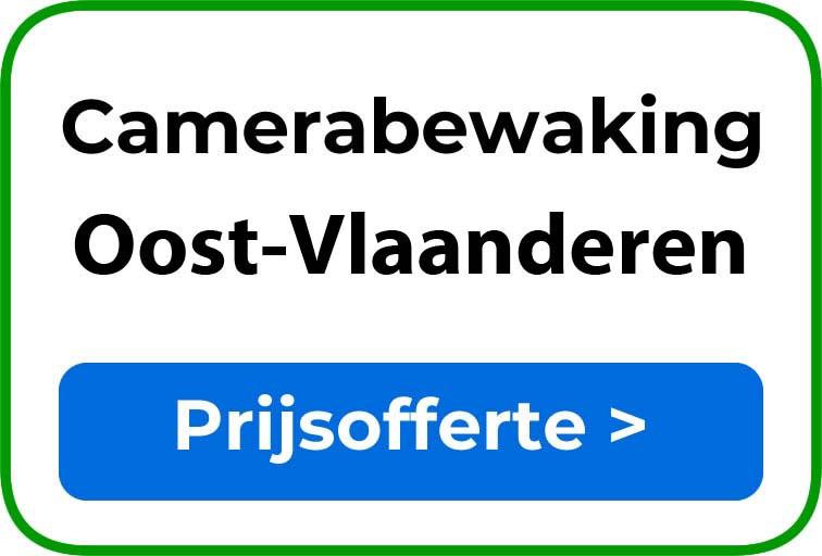 Camerabewaking in Oost-Vlaanderen