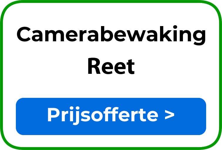 Camerabewaking in Reet