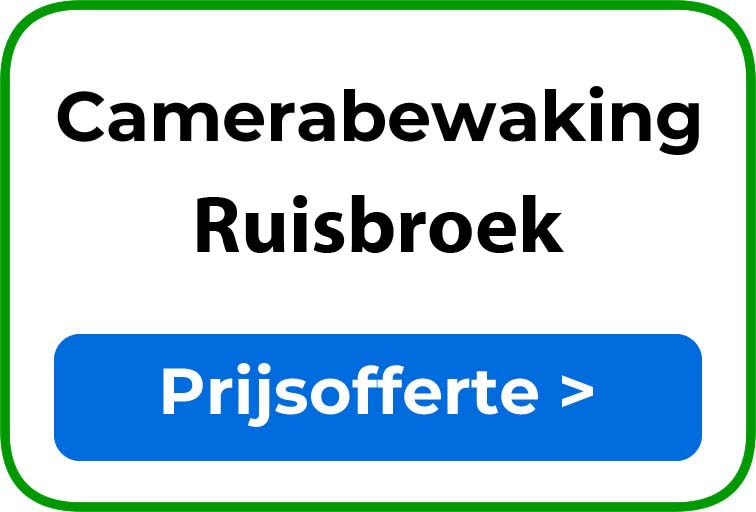 Camerabewaking in Ruisbroek