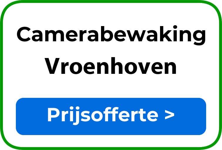 Camerabewaking in Vroenhoven