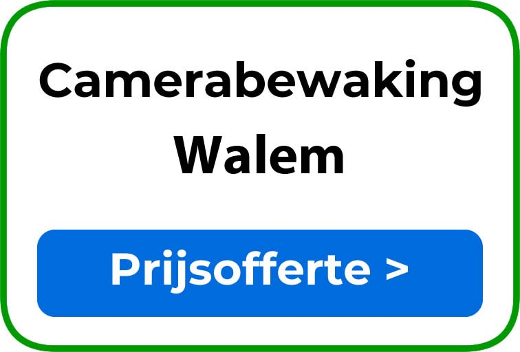 Camerabewaking in Walem