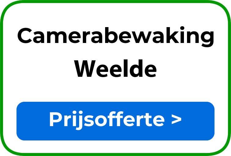 Camerabewaking in Weelde