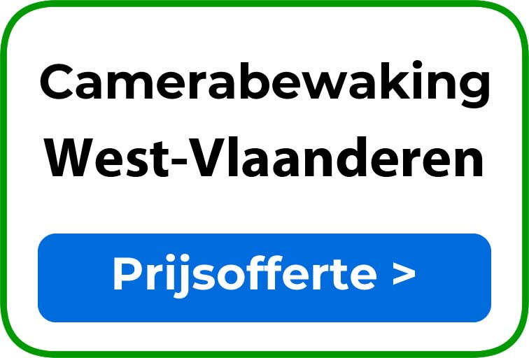 Camerabewaking in West-Vlaanderen