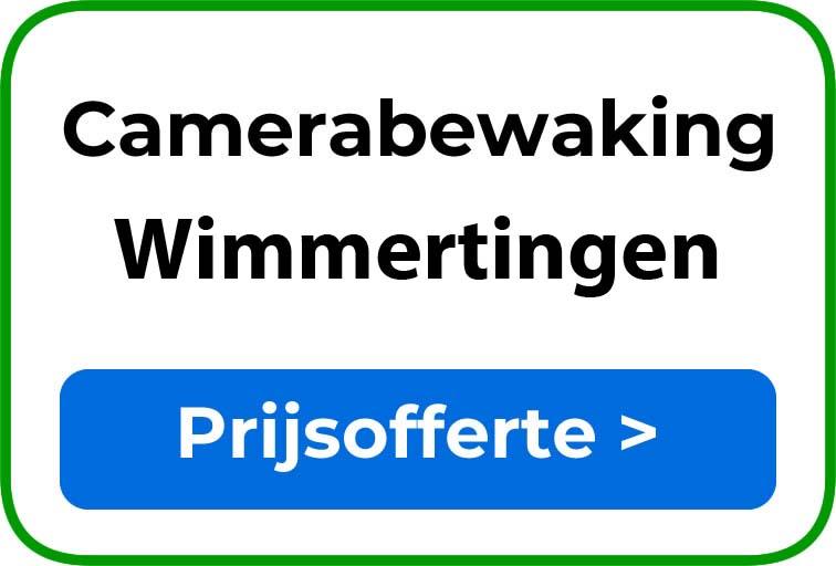 Camerabewaking in Wimmertingen