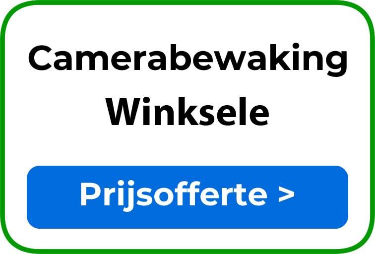 Camerabewaking in Winksele